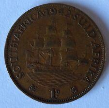 SUD AFRICA 1942 Penny