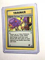 NIGHTLY GARBAGE RUN - Team Rocket - 77/82 - Uncommon - Pokemon - Unlimited - NM