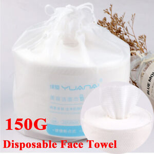 Disposable Face Towel Facial Tissue One-Time Cotton Pads Cleansing Roll Paper