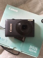 Canon IXUS 220 HS  Digital Camera - Silver [CASE INCLUDED]
