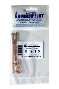 SOMMERFELDT 410 Fahrdraht 0,5 x 90mm offen (5 Stk im Beutel), Spur N, Neuware