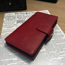 Real Leather Case Sony Xperia XZ2 Red   ION
