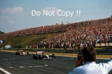 THIERRY BOUTSEN Williams FW13B WINNER ungherese GRAND PRIX 1990 Fotografia