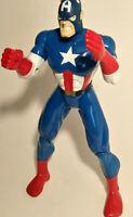 """Vintage Marvel Comics Captain America 10"""" Action Figure 1997 Toy Biz"""