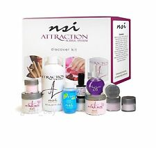 NSI Attraction Nail Acrylic System -DISCOVER KIT - Made in USA.