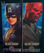 MARVEL SELECT THE FIRST AVENGER CAPTAIN AMERICA AND RED SKULL EXT RARE