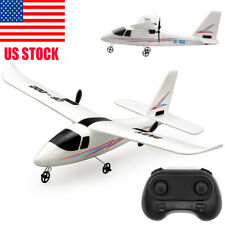 RC Helicopter Remote Control Plane Glider Airplane DIY QF-002 2.4Ghz 2CH RTF USA