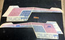 Ducati Pantah 500 SL kit original decalcomanie serbatoio