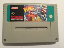 PLOK SUPER NINTENDO ENTERTAINMENT SNES Cartucho Pac sólo Reino Unido SYSTEM/PAL Euro