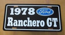 1978 Ford Ranchero GT license Plate tag 78 351 cleveland 460 400 the pickup car