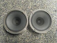 "Vintage Traynor Speakers 8"" Guitar Speakers 8 Ohm MATCHING Pair"