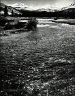 1950s Vintage ANSEL ADAMS River Mountain Yosemite Valley Photo Gravure Art 11x14