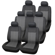 Black 7 Seat Third Row Car Covers Seater Set For Mercedes Benz Vaneo 2002 - 2005