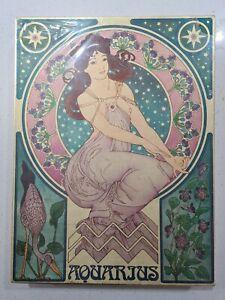 Aquarius Zodiac Puzzles by International Team 1500 pieces Vintage Rare. NEW