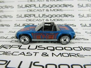 Hot Wheels LOOSE Collectible 2012 Release Flying Customs Blue PORSCHE 914-6