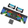 9 in 1 Body Building Push Up Rack Board System Fitness Exercise Tools Workout