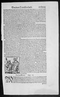 1574 S. Munster Antique Print Engravings to Text - Attila & Kings of Germany