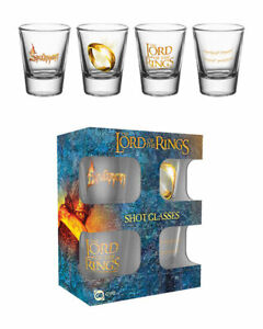 Lord of the Rings Ring Shot Glasses