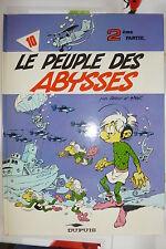 BD les petits hommes n°10 le peuple des abysses réédition 1985 TBE seron