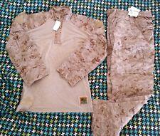 USMC DESERT FROG TOP & PANTS MEDIUM REGULAR NEW marpat