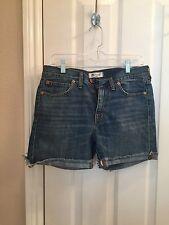 Women's MADEWELL Denim Cutoff Shorts Size 27