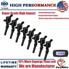 Super Performance 8Pcs Ignition Coils DG508 FD503 For Ford E-250 E-350 E450 F150
