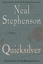 Quicksilver (The Baroque Cycle, Vol. 1) Neal Stephenson Hardcover 2003