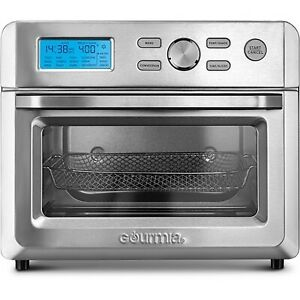 Gourmia Digital Stainless Steel 16-in-1 Toaster Oven Air Fryer - Silver