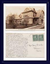 CANADA NOVA SCOTIA SPRINGHILL ALL SAINTS COTTAGE HOSPITAL REAL PHOTO CIRCA 1930