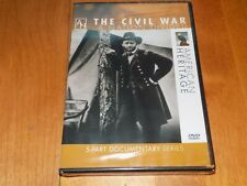 THE CIVIL WAR A Nation Divided Confederate Union American Heritage DVD SEALED