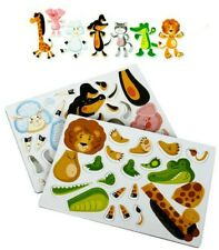 49 Magnets of Animals. Zoo Magnets.