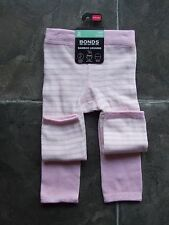 With Tags Baby Girls Bonds Pink 2 Pack Bamboo Leggings Size 6-12mths