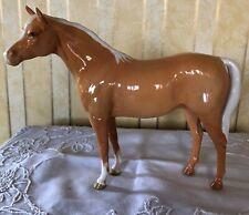 BESWICK HORSE PONY ARAB BAHRAM PALE PALOMINO GLOSS No 1771  RARE VINTAGE VGC