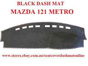 DASH MAT,BLACK DASHMAT,DASHBOARD COVER FIT MAZDA 121 METRO 1998-2002, BLACK
