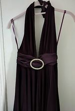BNWT Rare At Topshop Purple Halter Neck Dress - Size S/M - RRP £89 - Make Offer