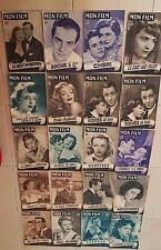 LOT de 20 revues cinema:  MON FILM. (Lot N°2) années 50