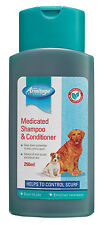Armitage Pet Care MEDICATED Dog Wash SHAMPOO & CONDITIONER 250ml SCURF CONTROL