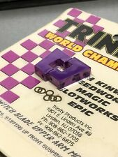 Trinity Rc Vintage Switch Blade Upper Arm Mounts Pan Car Race Purple New NOS