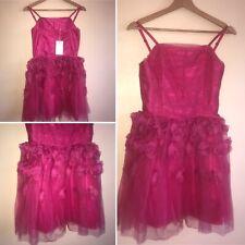 Monsoon Storm Age12 152cm Bright Pink Rosalie Tutu Dress Girls Bridal Prom Party