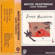 LAURIE ANDERSON Mister Heartbreak (1984) MC TAPE USATA