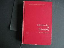 Intro to Philosophy   by Richard Popkin & Avrum Stroll