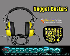 Detectorpro Nugget Buster Headphones for metal detectores 150 oHms profesional