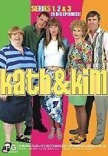 Kath & Kim Series 1,2 and 3 (DVD, 2005, 6-Disc Set)