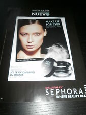 2013 - SEPHORA - BEAUTY MAKE UP MAQUILLAJE - AD PUBLICITE ANUNCIO-SPANISH - 2792