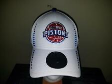 Detroit Pistons White New Era Adjustable NBA Hat  NEW
