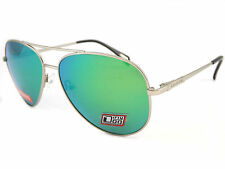 16507c1ae22 DIRTY DOG - Maverick Polarized metal Sunglasses Silver   Green Mirror 53477