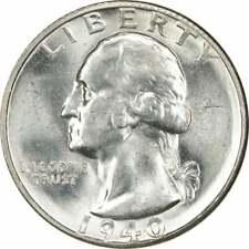 1940-S Washington Quarter Choice BU Uncertified