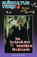 Castle of Bloody Lust Hardbox Cover B blu-ray Subkultur Adrian Hoven hardbox