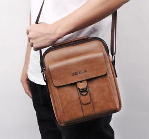 Men Bag Shoulder Crossbody Leather Shoulder Bags High Quality Messenger Bag Male