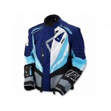 Taglia L  Uomo Giacca Moto Enduro Jacket UFO Ranger Blu Azzurro Husqvarna Yamaha